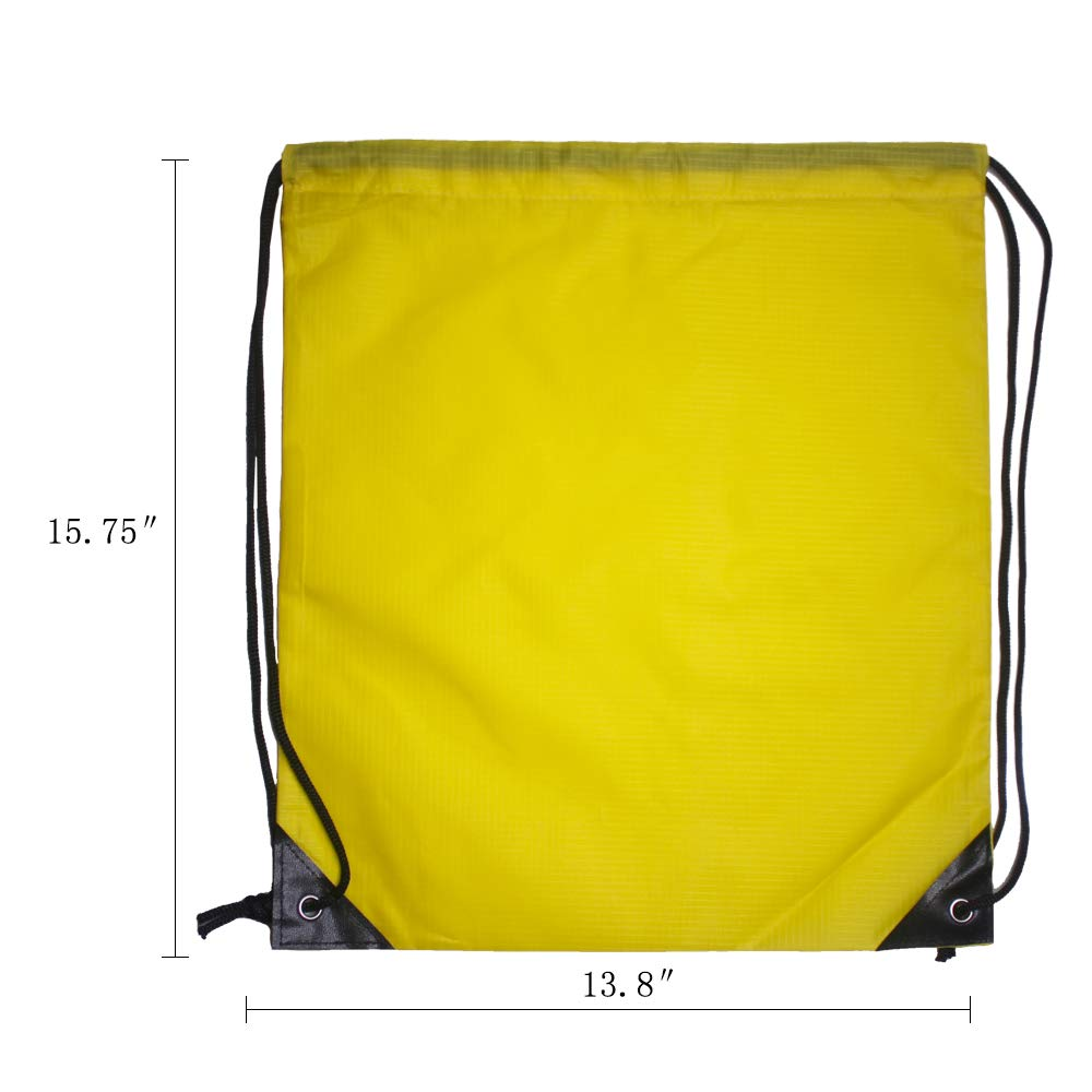 IMI bag 20PCS Folding Ripstop Fabric Drawstring Backpacks for Gym Traveling Partys Promotional Sport Home Storage.NO Logo School Kids Bags MIX