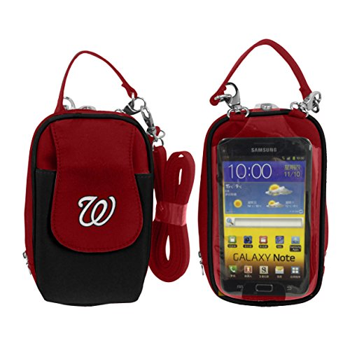 - Charm14 MLB Washington Nationals Crossbody Cell Phone Purse XL -Fits All Phones