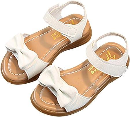 YWLINK Sandalias NiñAs,Zapatillas Los Deportes Bowknot Sandalias Antideslizantes Princesa Zapatos Ocasionales Zapatos De Playa Zapatos Romanos