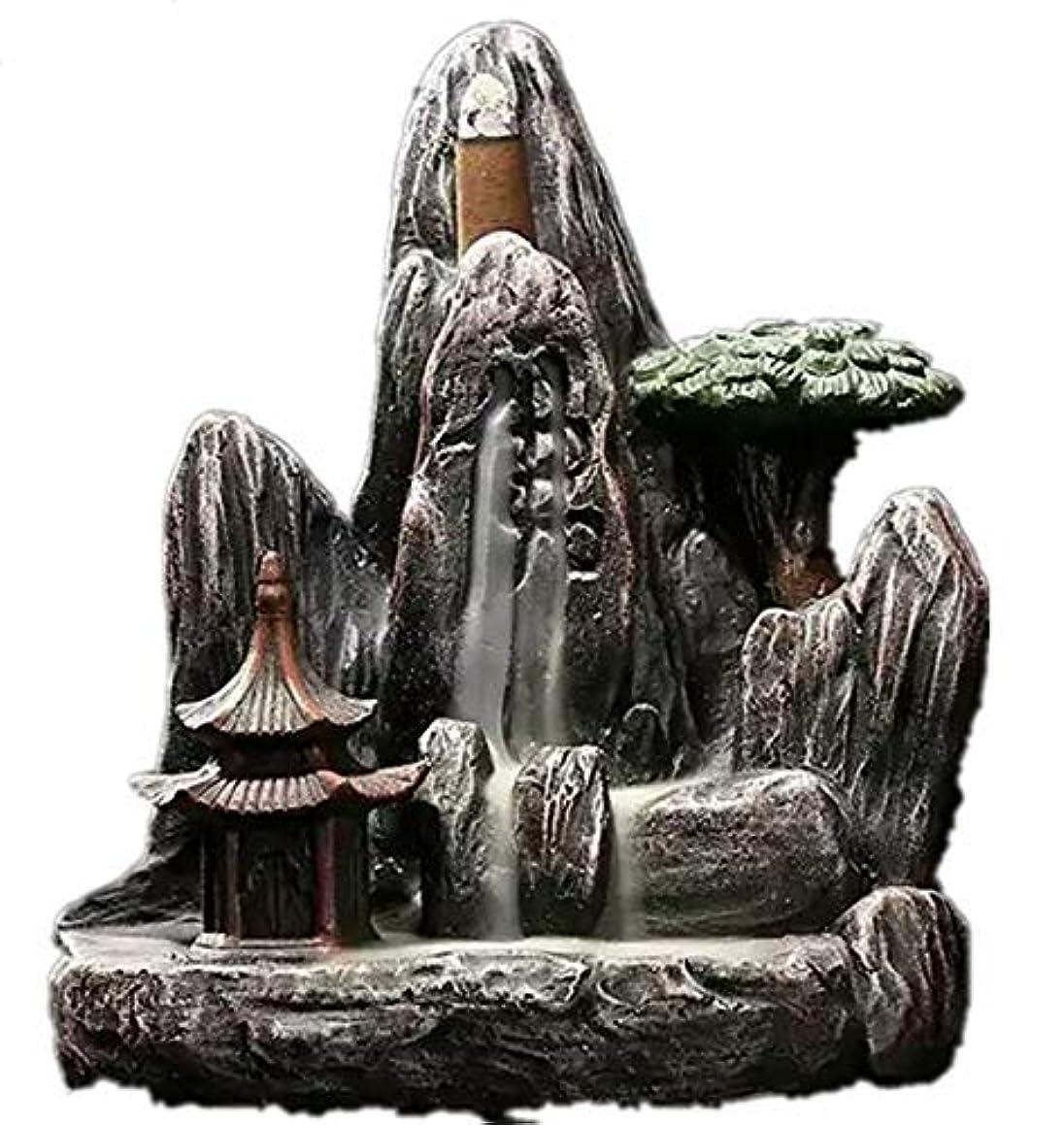 気まぐれなイディオムストロークXPPXPP Backflow Incense Burner, Household Ceramic Returning Cone-shaped Candlestick Burner