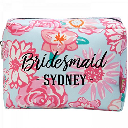 Bridesmaid Proposal Gift Sydney: Patterned Cosmetic Makeup Bag