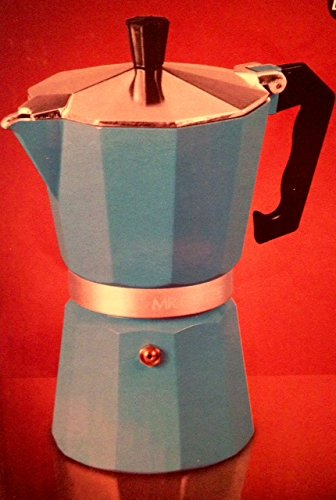 Mr. Coffee 6 Cup Espresso Maker for Stovetop (Colors Vary)
