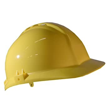 Centurion S03EYF Classic - Casco de seguridad, visera completa, color amarillo