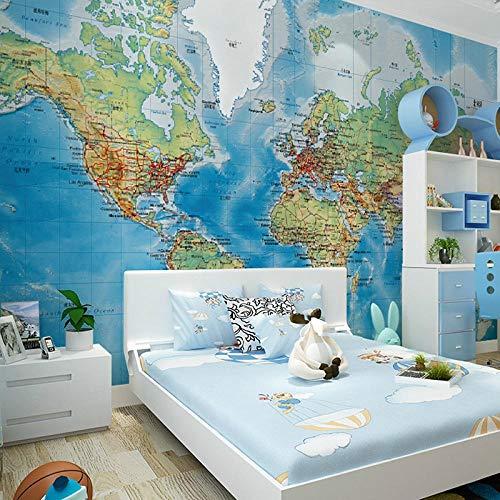 3D Wallpaper Room Wall Paper Research World Wallpaper Huge Mural Maps Wallpaper for Walls Zffmss-120cmx100cm