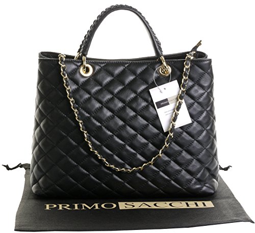Quilted Large Handbag - 3