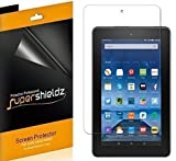 "Image of [3-Pack] Amazon Fire 7"" 7 inch Tablet Screen Protector, (5th Generation - 2015 Release) Supershieldz- Anti-Bubble High Definition (HD) Clear Shield - Lifetime Replacements Warranty"