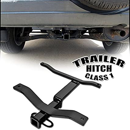 VXMOTOR Class 1 I Trailer Towing Hitch Mount Receiver Rear Bumper Utility  Tow Kit 1.25u0026quot;