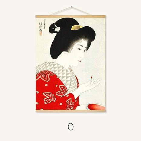 Pintura Colgante Restaurante japonés Pintura Mural Pintura en ...
