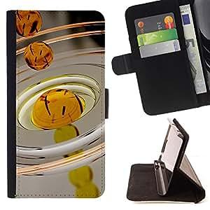 BullDog Case - FOR/LG G3 / - / Oil Drop Macro /- Monedero de cuero de la PU Llevar cubierta de la caja con el ID Credit Card Slots Flip funda de cuer
