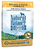 Natural Balance L.I.D. Limited Ingredient Diets Dry Dog Food, Grain Free, Potato & Duck Formula, 26-Pound
