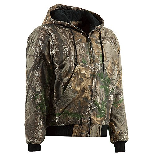 Lined Camo Hunting Jacket - 9