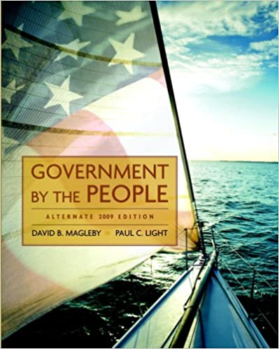 Ebooks online kostenlos herunterladen Government by the People, Alternate Edition, 2009 Edition (23rd Edition) 0136050409 PDF RTF