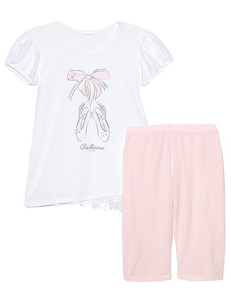 La Perla - Pijama - para niña blanco 6 años