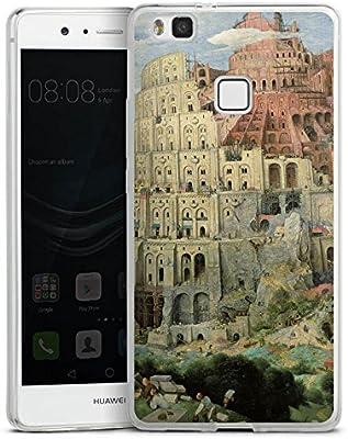 Huawei P10 Plus Slim Case Carcasa de silicona Torre Diseño zu ...
