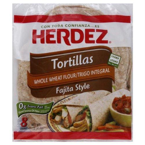 HERDEZ TORTILLA WHLWHT, 16 OZ by Herdez