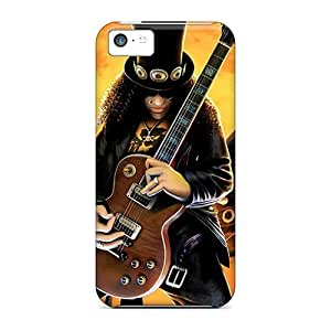 Iphone 5c Rock Hard Tpu Silicone Gel Case Cover. Fits Iphone 5c