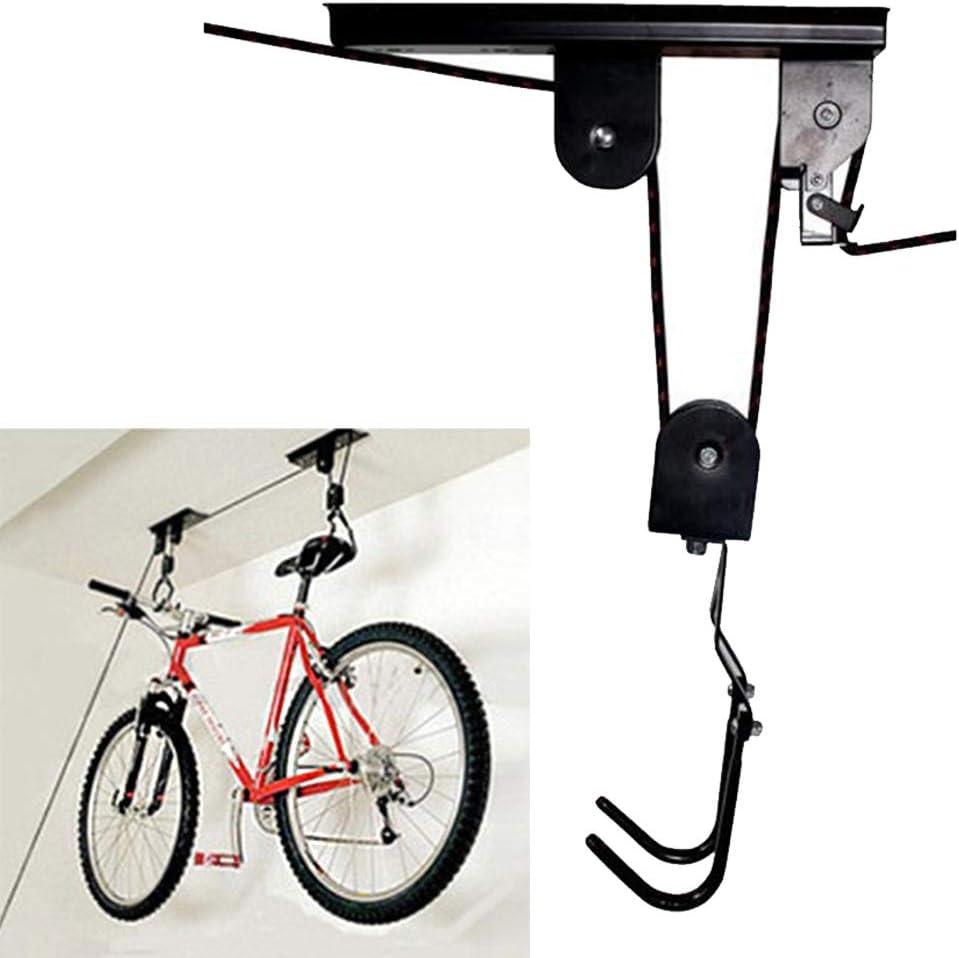 2pcs de bicicletas de almacenamiento en rack titular del stand de bicicletas Garaje montaje en pared gancho de la suspensi/ón de ciclo de accesorios for bicicletas univers TYBXK soporte bicicleta 1pc