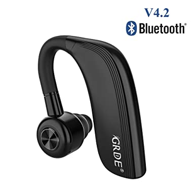 420dc7ede85 Bluetooth V4.2 Headset Handsfree Business Wireless Sport Earpiece for  iPhone 25Hours Continuous Talking Time