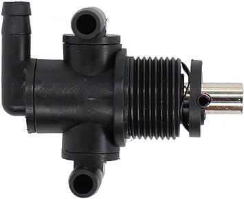 Carkio 7052161 3-Way Petcock Tank Fuel Shut-Off Valve Switch with Plastic Knob Replacement for Polaris ATV Sportsman 335 325 330 400 500 600 700