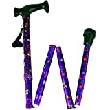 Adjustable Folding Cane - Floral