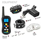 Dog-Training-Collar-By-VINZOO-Waterproof-Shock-Collar-For-Dogs-With-Remote-Rechargeable-Bark-Collar-With-Beep-Vibration-Shock-16-Different-Levels-Pet-Training-Collar-For-Small-Large-Dogs