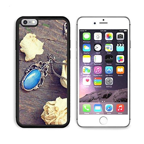 (MSD Premium Apple iPhone 6/6S Plus Aluminum Backplate Bumper Snap Case lovely vintage medallion close up 33982804 )