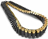 Pack of 2 Safety Solution 10, 12 & 20 Gauge GA Stealth Black 56 Round Shotgun Shotshell Ammo Shot Shell Shoulder Bandolier Bandoleer Carrier /56R2PC