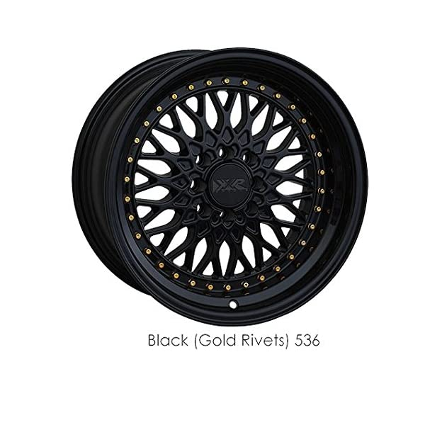 XXR-Wheels-536-Black-Wheel-with-Painted-Finish-15-x-8-inches-4-x-100-mm-0-mm-Offset