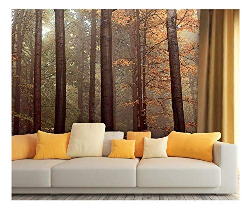 Large Wall Mural Oil Painting Style Landscape With Tall