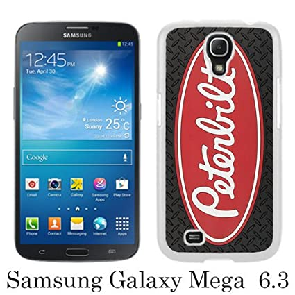 sports shoes a3b5b e268c Samsung Mega 6.3 Phone Case,Peterbilt logo 3 White Pattern Cool ...