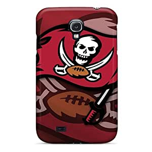 Anti-Scratch Hard Phone Cases For Samsung Galaxy S4 (eHR6429cqKF) Unique Design Stylish Tampa Bay Buccaneers Series