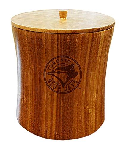 MLB Toronto Blue Jays Unisex MLB Bamboo Ice Bucket, Natural, 8