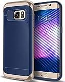 Caseology Wavelength for Galaxy S7 Edge Case (2016) - Stylish Grip Design - Navy Blue