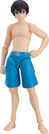 figma Swimsuit Male Body TYPE2 Non-scale ABS /& PVC Painted movable figure Ryo