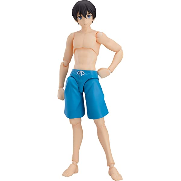 Ryo TYPE2 Non-scale ABS /& PVC Painted movable figure figma Swimsuit Male Body