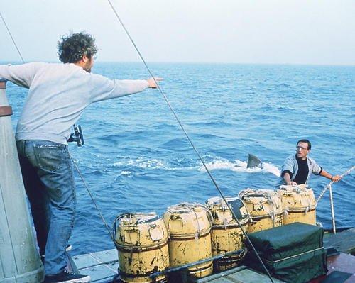 Jaws Featuring Richard Dreyfuss, Roy Scheider 8x10 Promotional Photograph