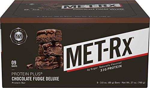 MET-Rx Protein Plus Chocolate Fudge, 85 gram, 9 count
