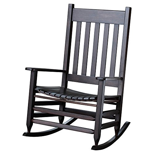 Hinkle Chair Company Stained Plantation Jumbo Rocking Chair, Mahogany