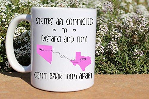 Amazon Com Sisters Mug Sisters Gift Sister Coffee Mug Gift