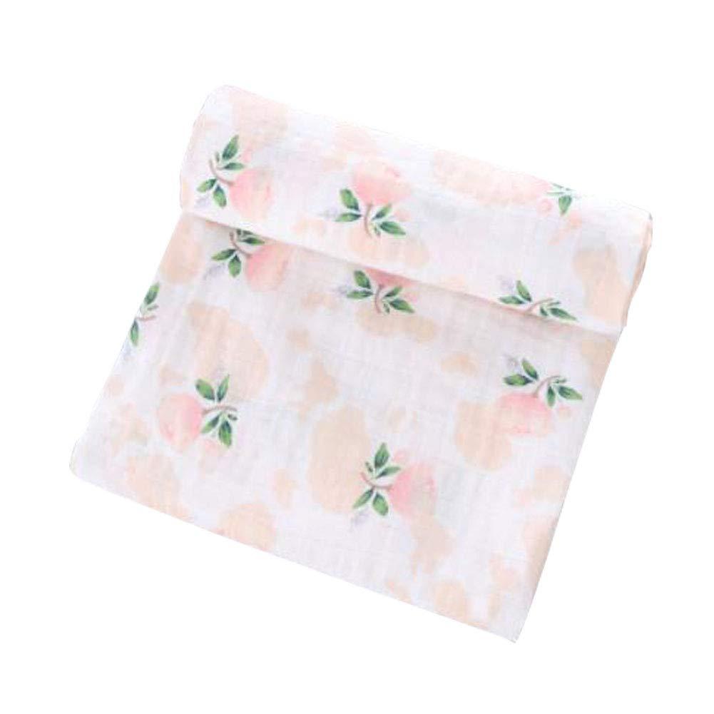 Cheekie Monkie 100/% Cotton Muslin Baby Newborn Swaddle Wrap Blanket//Receiving Blanket Girls Floral Print