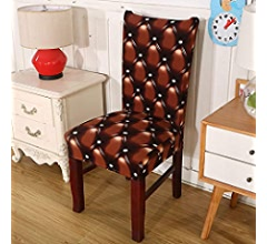 Amazon.com: 1/2/4/6 Pieces European Printing Chair Covers Elastic ...
