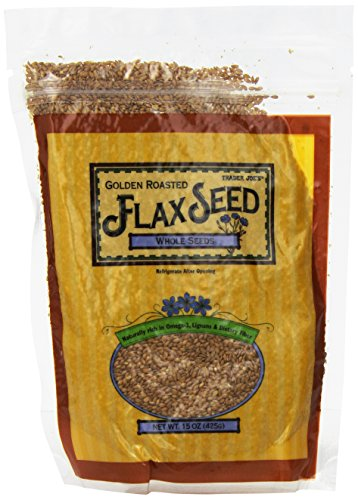 Trader Joe's Golden Roasted Flax Seeds Whole Seeds 15 oz(425g)