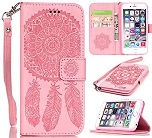 6 PLUS,iPhone 6 Plus Cute Cases,Kaseberry Cute Cartoon Patterns Flap Meagnet Stand Feature Pu leather Folio Wallet fit for iPhone 6 Plus 010