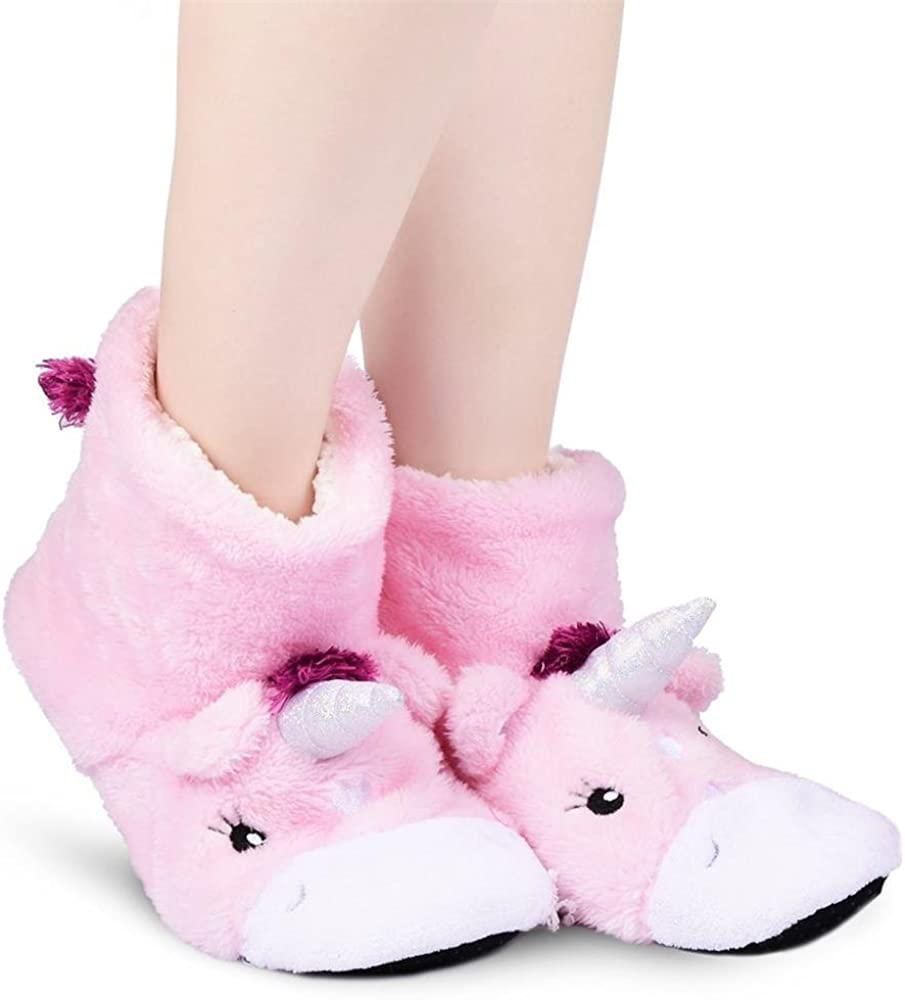 Ladies//Girls Unicorn Mule Slippers Super Soft
