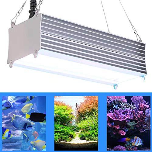 "FECiDA 300W LED Aquarium Light 12"" 24"" 30"", Full Spectrum Fish Tank Light for Freshwater & Saltwater, Dual ON/Off…"
