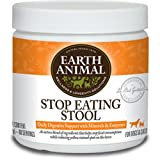 Earth Animal Stop Eating Stool Dog and Cat Supplement 8 oz