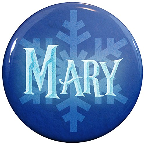 Buttonsmith® Mary Winter Ice Name Tag (Queen Mary Tiara)