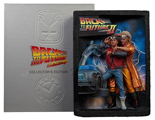 Back to the Future Diorama Sculpted Movie Poster & Ultimate Visual History (Sculpted Poster)