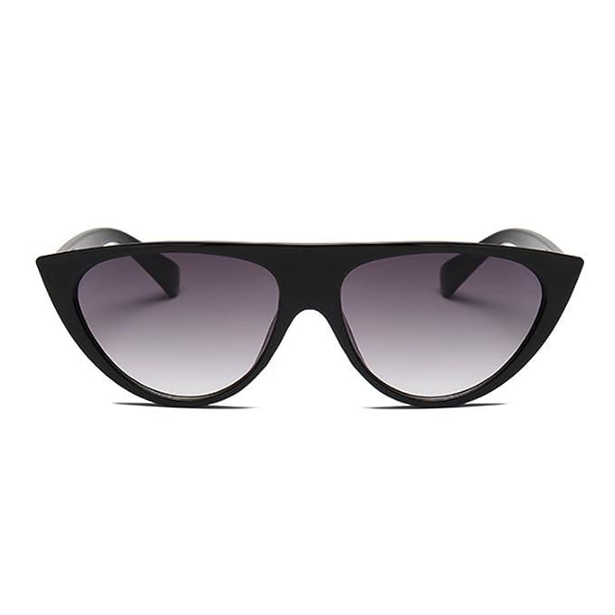 Fuyingda gato ojos mujer gafas de sol personalidad moda ...