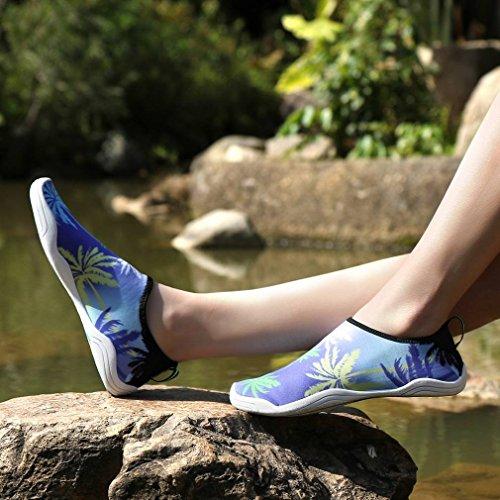 Séchage d'eau Chaussure Chausson Sport Doux Violet Extérieurs Respirant Bigood Rapide a6v0xw